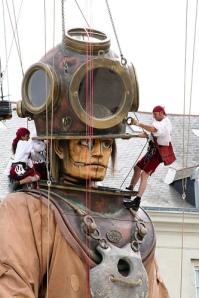 Nantes, Machine de L'ile, machine animals, Jules Vernes
