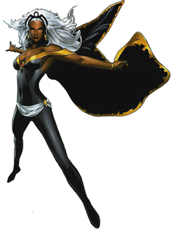 capes, heroes, superheroes, Storm, X-Men, costumes, fashion, skin tight
