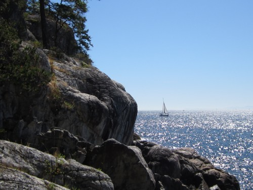 Lighthouse Park, West Vancouver, Geocaching, parks, sun, ocean