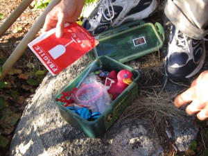 geocaching, Lighthouse Park, treasures, hide and seek