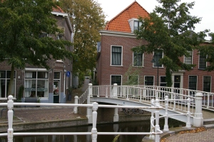 canals, Dutch houses, water, shipping