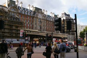 Victoria Station, trains, trams, London, transit, transport, travel