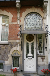 Art Nouveau, buildings, architecture, art, Antwerp
