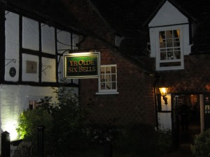 Ye Olde Six Bells, Horley, England, restaurants, travel, food, dining, pub