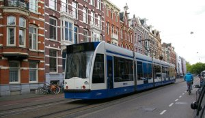 Amsterdam, travel, transportation, trams, bikes