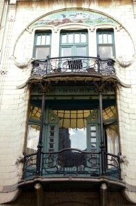 Art Nouveau, Antwerp, Belgium, architecture, history, buildings, travel