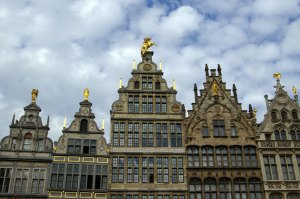 Antwerp, guild houses, grote markt, history, culture