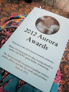 Aurora Awards, writing convention, When Words Collide