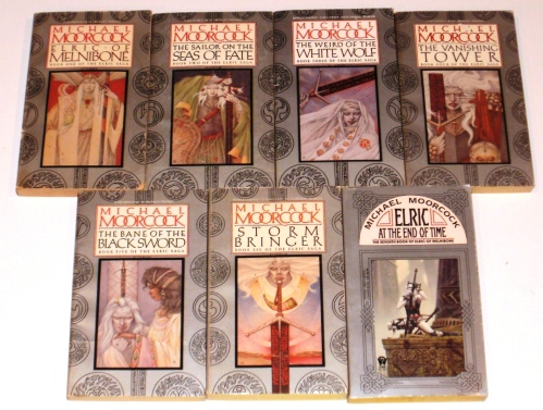 books, fantasy, dark fiction, Michael Moorcock
