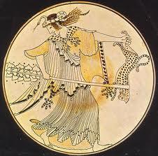 maenad, gods, Dionysus, Hawksley Worrkman, frenzy, divine ecstasy, mad god