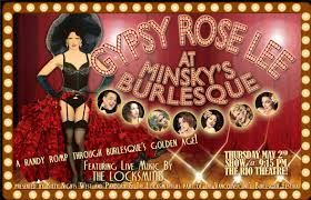 stripping, striptease, Gypsy Rose Lee, burlesque