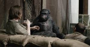 Koba, apes, Dawn of Planet of the Apes, simian virus