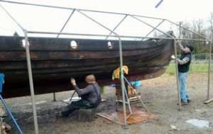 hull, keel, longship, longboat