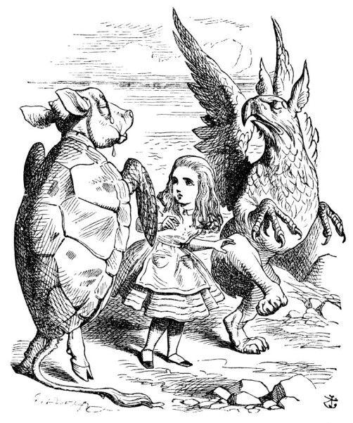 Alice in Wonderlnand, Through the Looking Glass, fantasy, speculative