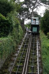 funicular, Lynton, Devonshire coast