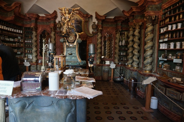 Klatovy, apothecary, Czech Republic, historic, medicine
