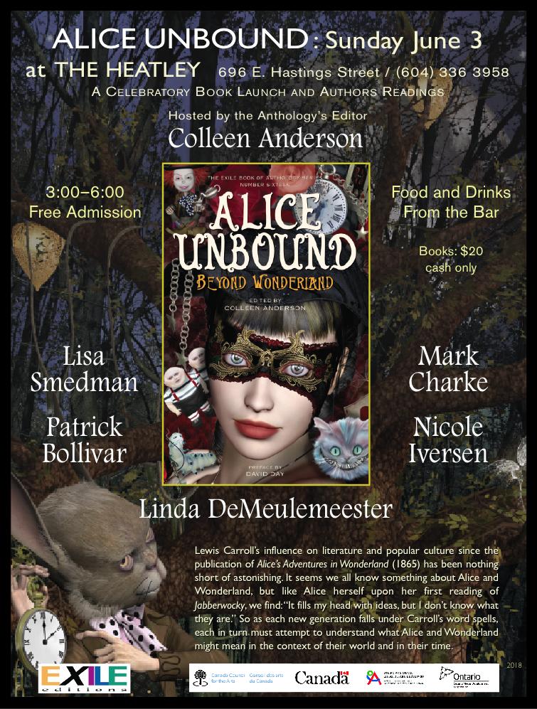 Lewis Carroll, fantasy, horror, SF, fiction